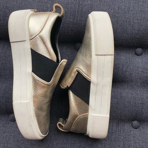 Platform slip-on sneakers, Kendall + Kylie